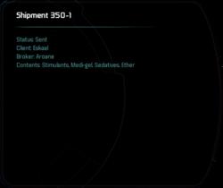 Shipment 350-1