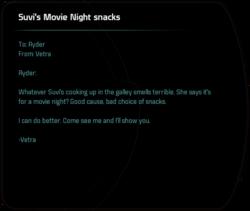 Suvi's Movie Night snacks