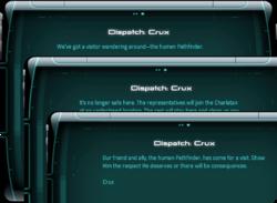 Dispatch: Crux