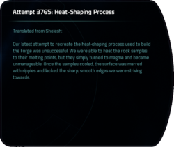 Attempt 3765: Heat-Shaping Process