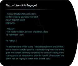 Nexus Live-Link Engaged