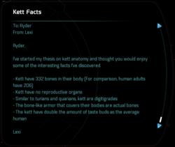 Kett Facts