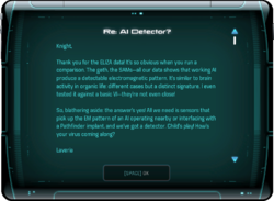 Re: AI Detector?