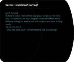 Record: Explosions! Drifting!