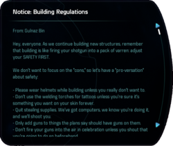 Notice: Building Regulations