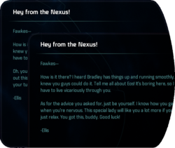 Hey from the Nexus!