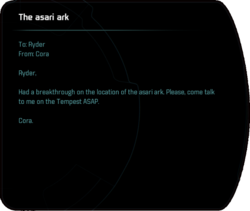 The asari ark