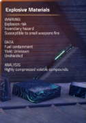 Explosive Materials - Remnant - scan.png