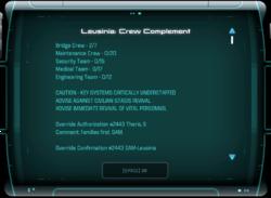 Leusinia: Crew Complement