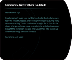 Community: New Fathers (Updated)