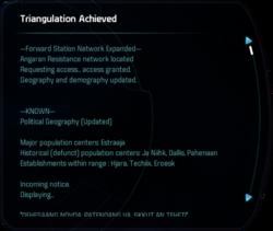 Triangulation Achieved