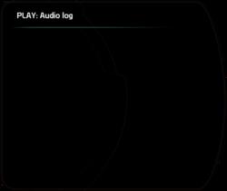 PLAY: Audio Log