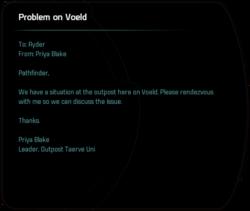 Problem on Voeld