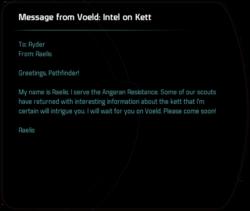 Message from Voeld: Intel on Kett