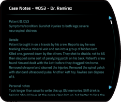 Case Notes - #053 - Dr. Ramirez