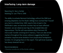 Interfacing: Long-term damage