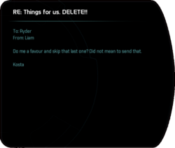 RE: Things for us. DELETE!!