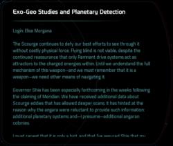 Exo-Geo Studies and Planetary Detection