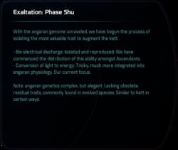 Exaltation: Phase Shu