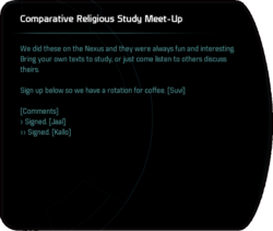 Comparative Religious Study Meet-Up