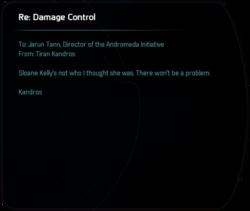 Re: Damage Control