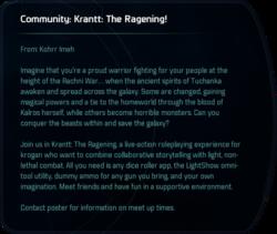 Community: Krantt: The Ragening!