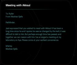 Meeting with Akksul