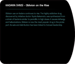 KADARA (HNS) - Oblivion on the Rise