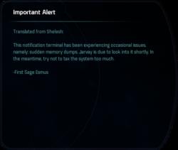Important Alert