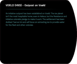 VOELD (HNS) - Outpost on Voeld