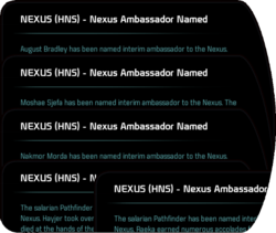 NEXUS (HNS) - Nexus Ambassador Named