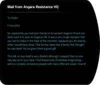 Mail from Angara Resistance HQ (destroy AI).png