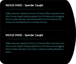 NEXUS (HNS) - Spender Caught