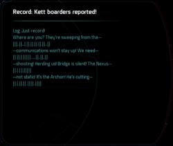 Record: Kett boarders reported!