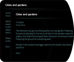 Cities and gardens