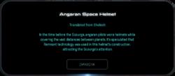 Angaran Space Helmet