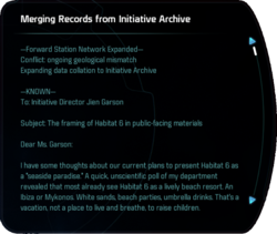 Merging Records from Initiative Archive