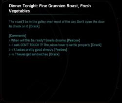 Dinner Tonight: Fine Grunnien Roast, Fresh Vegetables
