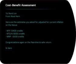 Cost-Benefit Assessment