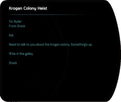 Krogan Colony Heist