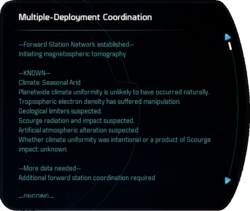 Multiple-Deployment Coordination