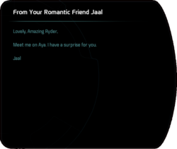 From Your Romantic Friend Jaal