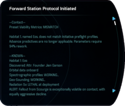 Forward Station Protocol Initiated