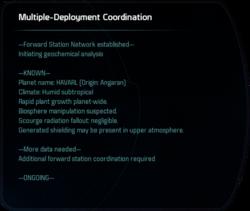 Multiple-Deployment Coordination