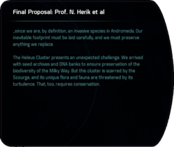 Final Proposal: Prof. N Herik et al