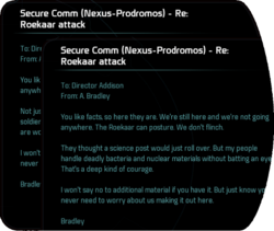 Secure Comm (Nexus-Prodromos) - Re: Roekaar attack