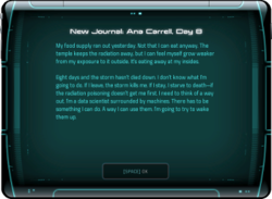 New Journal: Ana Carrell, Day 8