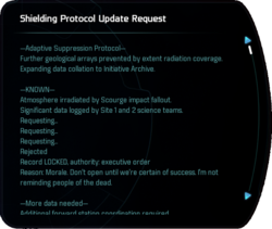 Shielding Protocol Update Request