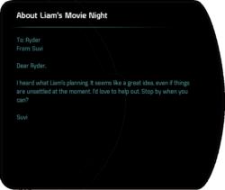 About Liam's Movie Night