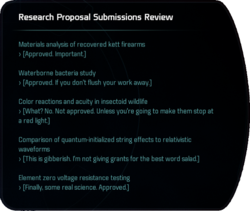 Research Proposal Submissions Review